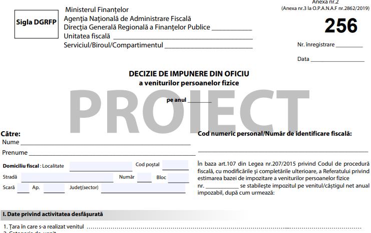 ANAF va stabili din OFICIU impozitul pe indemnizatiile de pandemie daca nu ati depus la timp D212