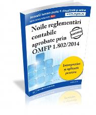 Noile reglementari contabile - OMFP 1802/2014