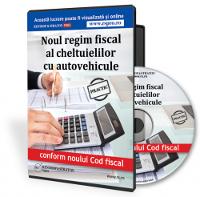 Noul regim fiscal al cheltuielilor cu autovehicule
