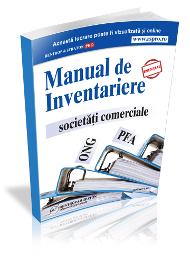 Manualul de Inventariere. Societati Comerciale. PFA. ONG