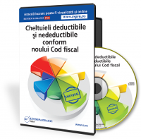 Cheltuieli deductibile si nedeductibile conform noului Cod fiscal