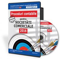 Proceduri contabile pentru societati comerciale 2016