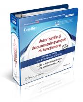 Autorizatiile si documentele esentiale de functionare