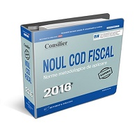 Consilier Noul Cod fiscal 2016