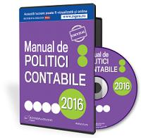 Manualul de politici contabile, 100% editabil