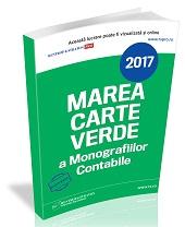 Marea Cartea Verde a Monografiilor Contabile