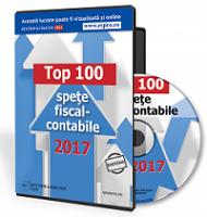 Top 100 de spete fiscal-contabile 2017
