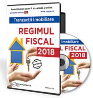 Tranzactii imobiliare. Regimul fiscal in 2018