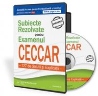 Subiecte Rezolvate pentru Examenul CECCAR - Solutii si Explicatii